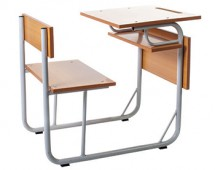 Combi monobloc student's table